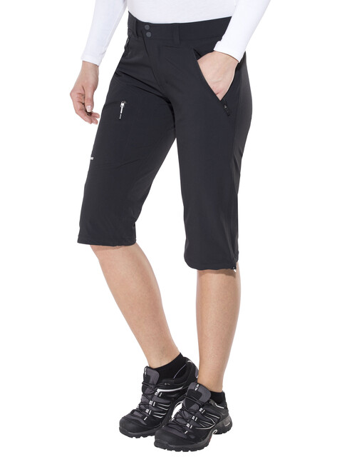 Peak Performance Black Light - Pantalones cortos Mujer - gris/negro
